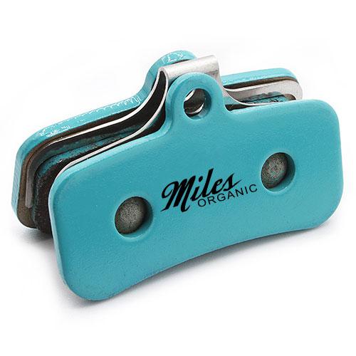 Miles Racing organic bicycle disc brake pads