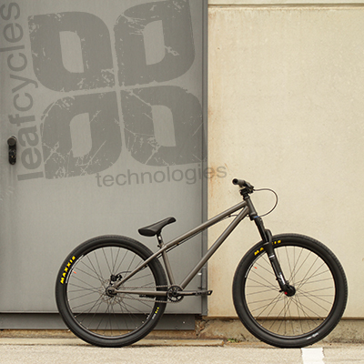 Leafcycles ® equipment for the dirty hours of your life