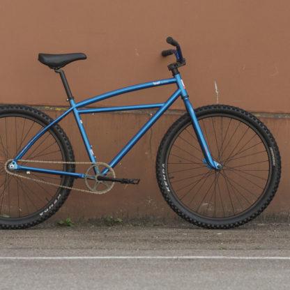 Leafcycles Klunker Bicycle blau-metallic Startbild