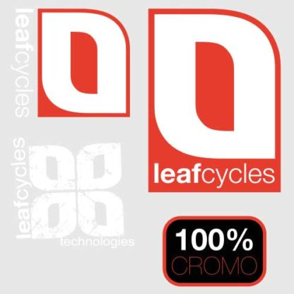 Leafcycles Klunker Aufkleber Set