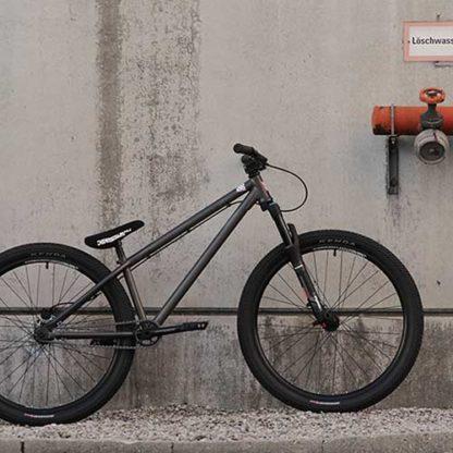Leafcycles Ruler Dirt Jumping Bike phosphated